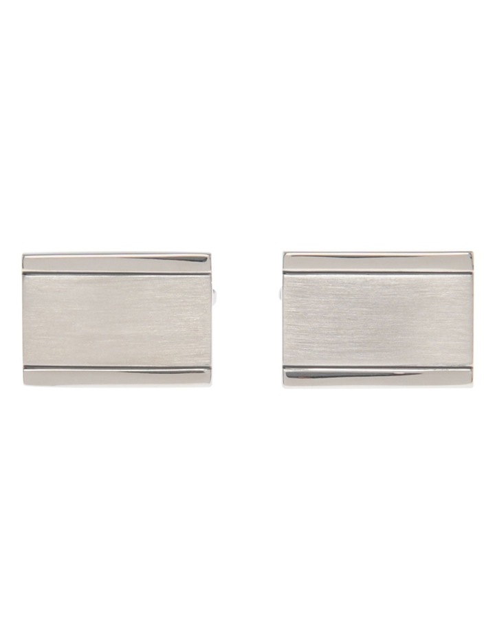 Woven Metal Cufflinks image 1