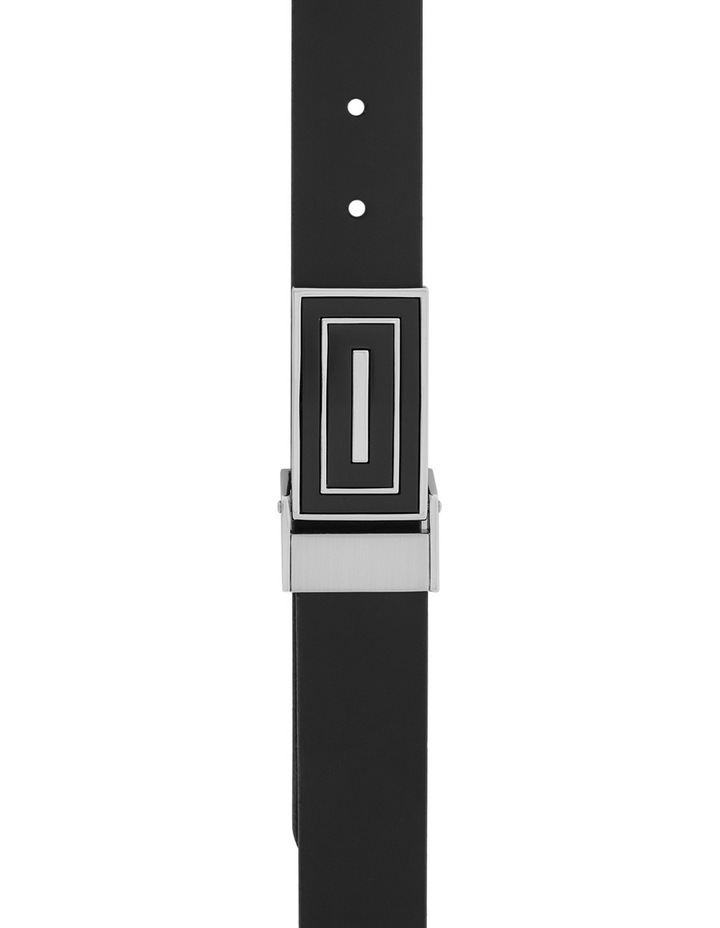 Leather Belt With Clamp On Buckle image 1