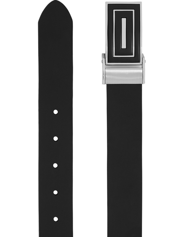 Leather Belt With Clamp On Buckle image 2