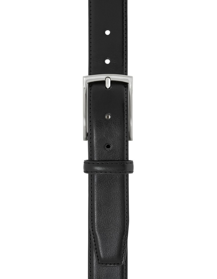 Leather Belt With Prong Buckle image 1