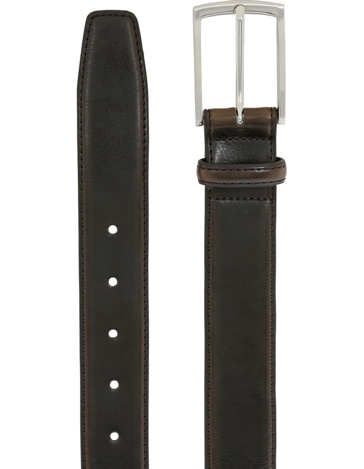 Leather Belt With Prong Buckle image 2