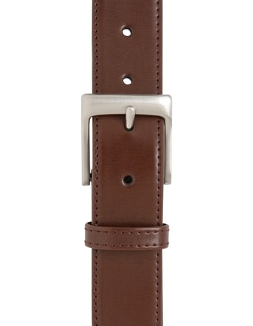 81c674094c2b Buckle Leather Belt With Prong Buckle