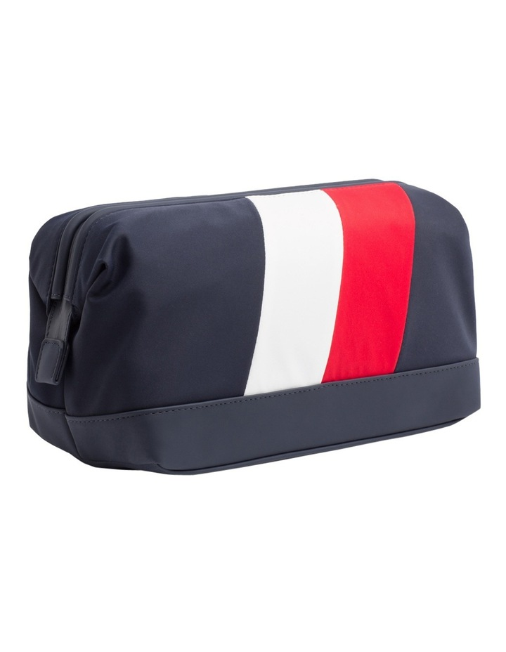 TOMMY CHEVRON FRAMED WASHBAG image 1