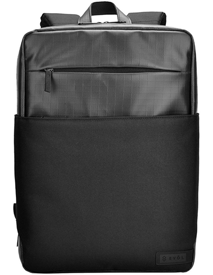 "BYRON 15.6"" WATER RESISTANT LAPTOP BACKPACK image 2"