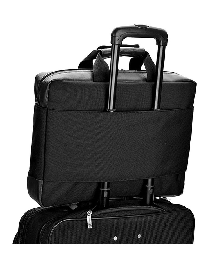 """BYRON 15.6"""" WATER RESISTANT LAPTOP BRIEFCASE image 5"""