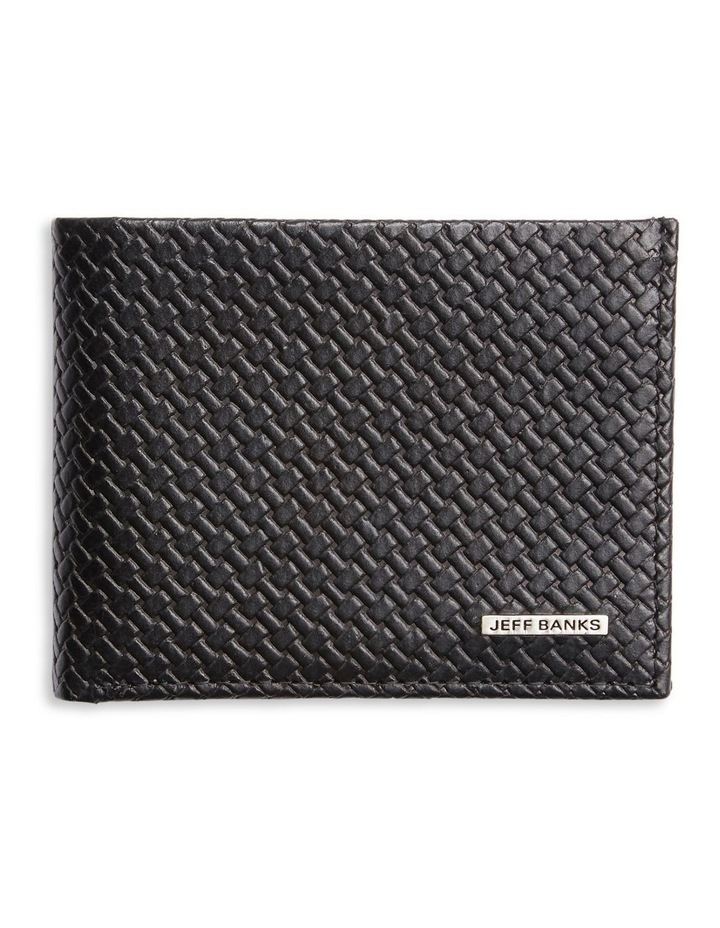 Woven Embossed Centerfold Wallet image 1