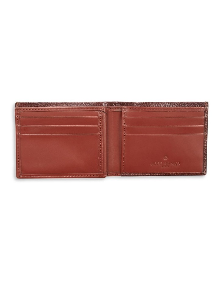 Woven Embossed Centerfold Wallet image 2