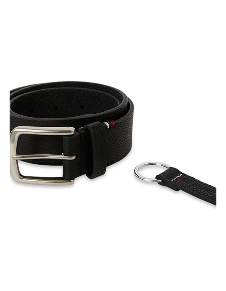 35mm Pin Buckle Belt With Keychain image 1