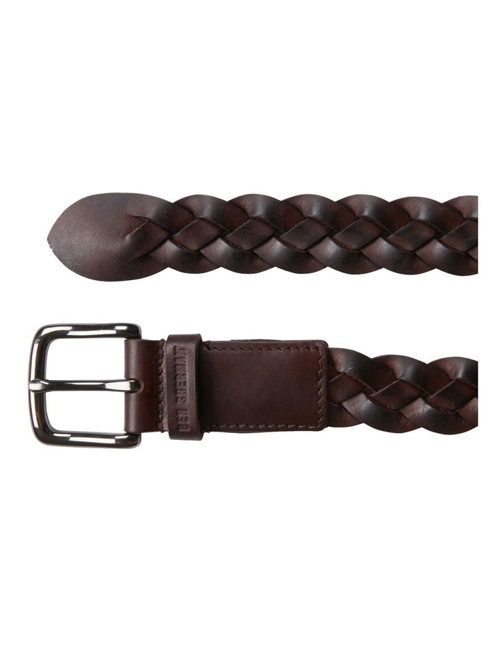 Leather Woven Belt image 3