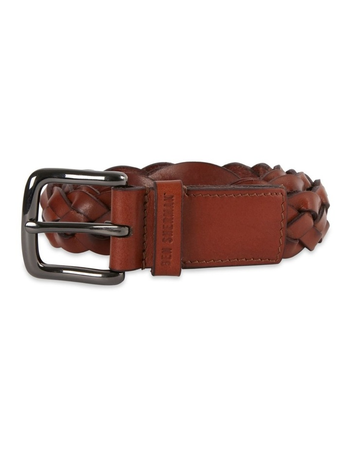 Leather Woven Belt image 1