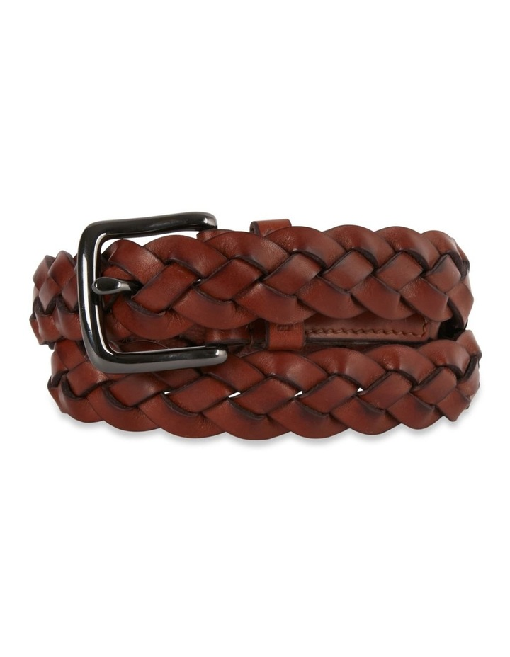 Leather Woven Belt image 2