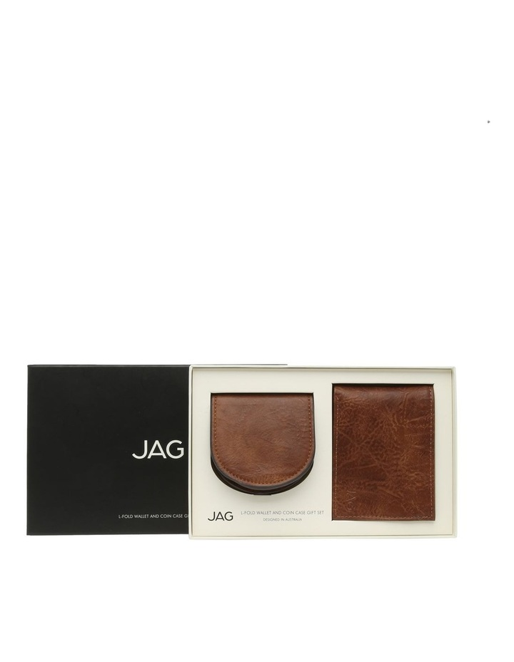 L-Fold Wallet And Coin Case Gift Set image 1