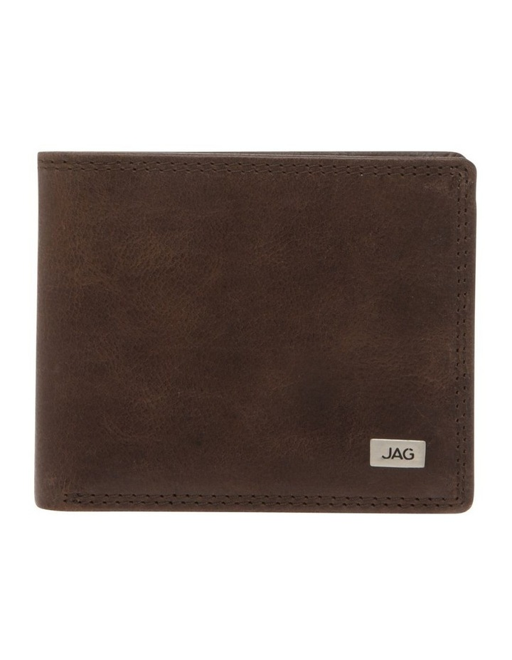 Trifold Wallet With ID Window Brown image 1