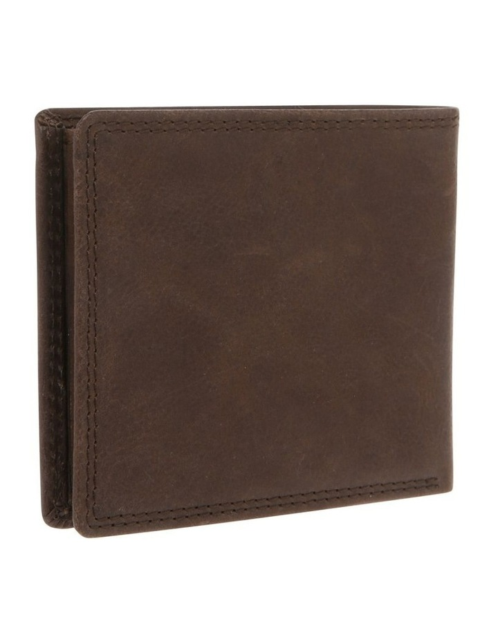 Trifold Wallet With ID Window Brown image 2