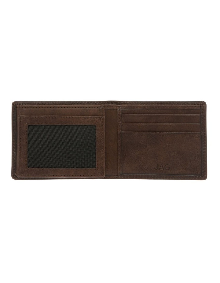 Trifold Wallet With ID Window Brown image 3