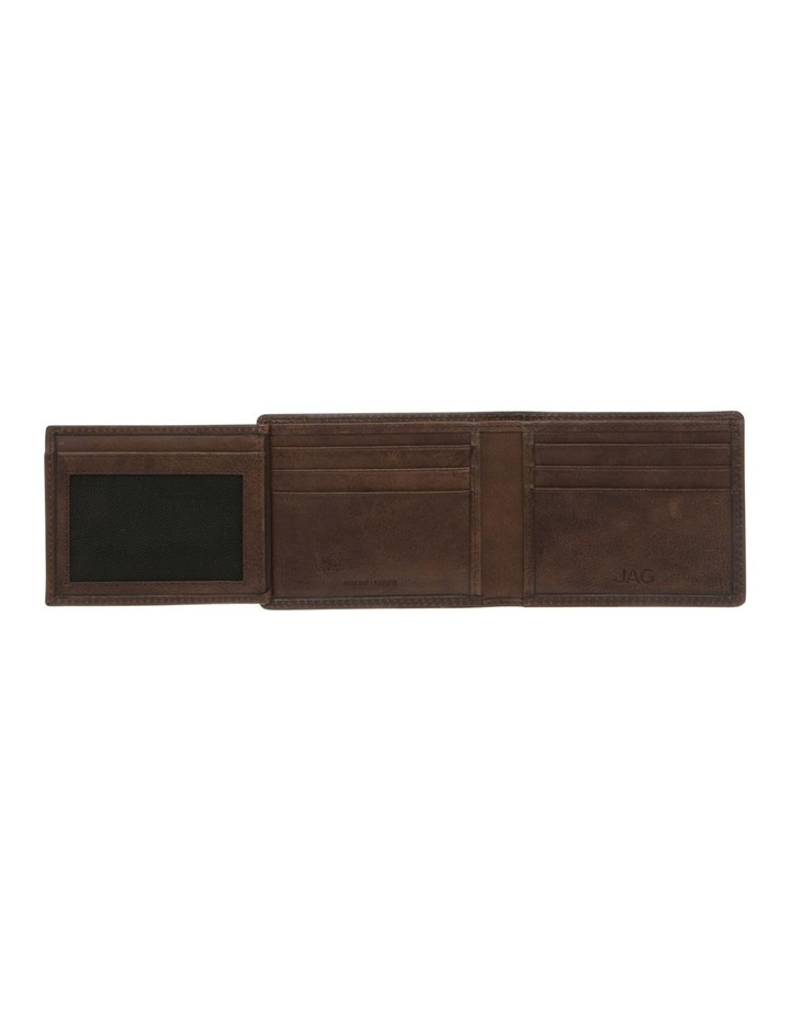 Trifold Wallet With ID Window Brown image 4