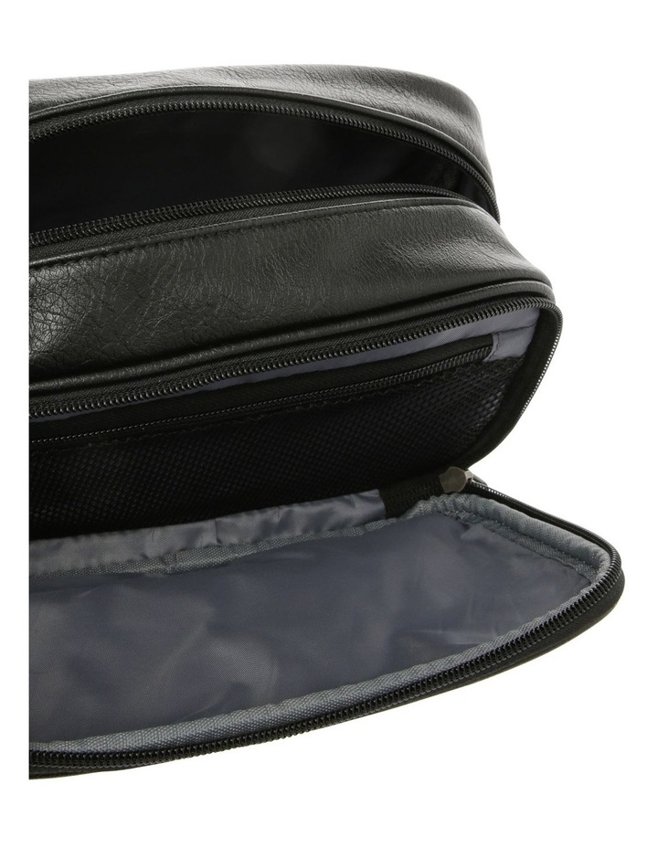 Black Toiletry Bag image 3