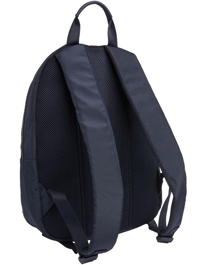 Colour-Blocked Logo Backpack image 2