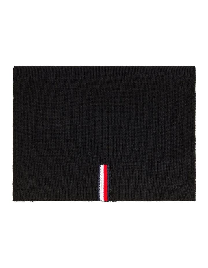 Rib-Knit Pure Cotton Scarf image 1
