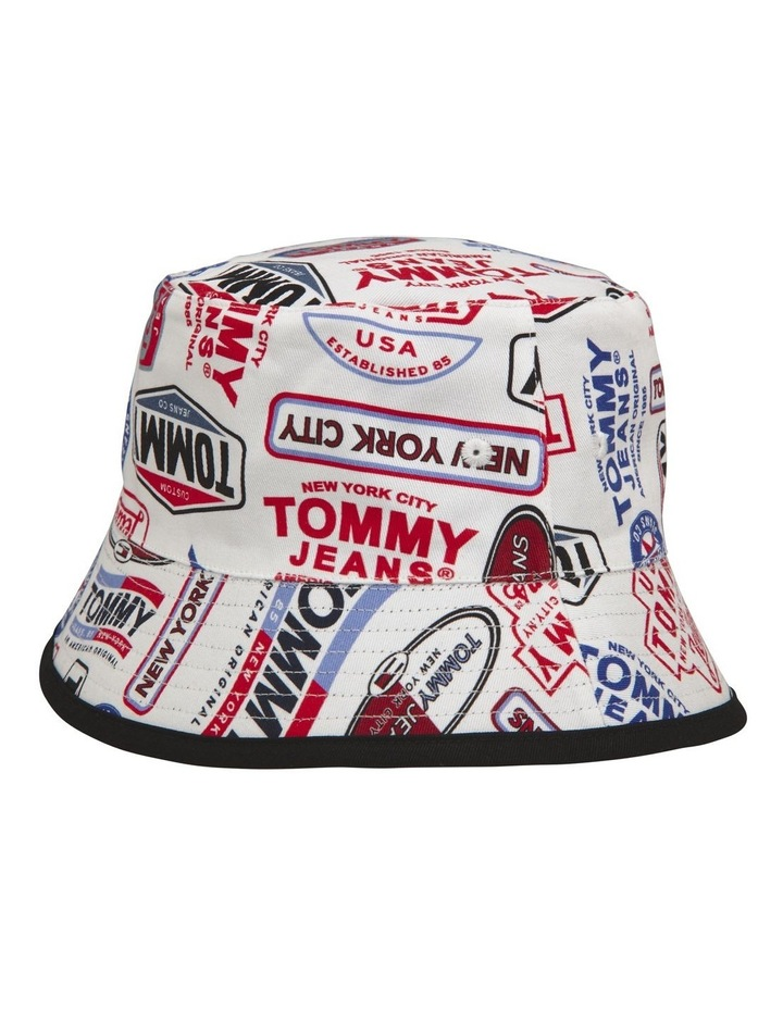 Tommy Jeans Heritage Reversible Bucket Hat image 2