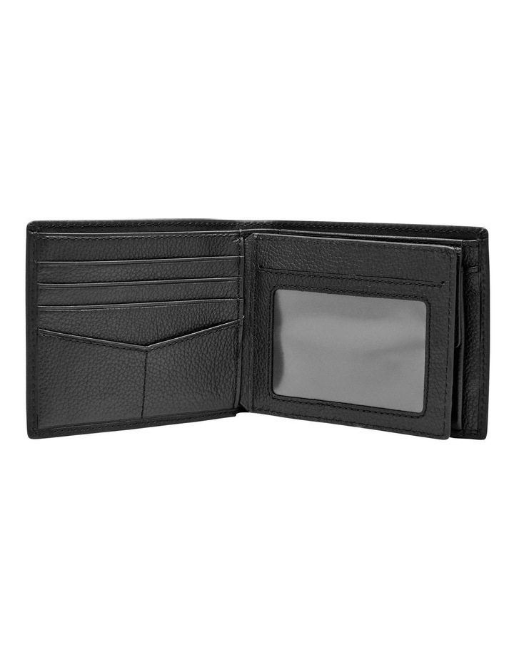 Kane Gift Set: Large Coin Pocket Bifold   Key Fob Black image 2