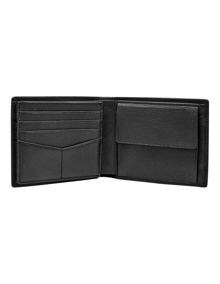 Kane Gift Set: Large Coin Pocket Bifold   Key Fob Black image 4
