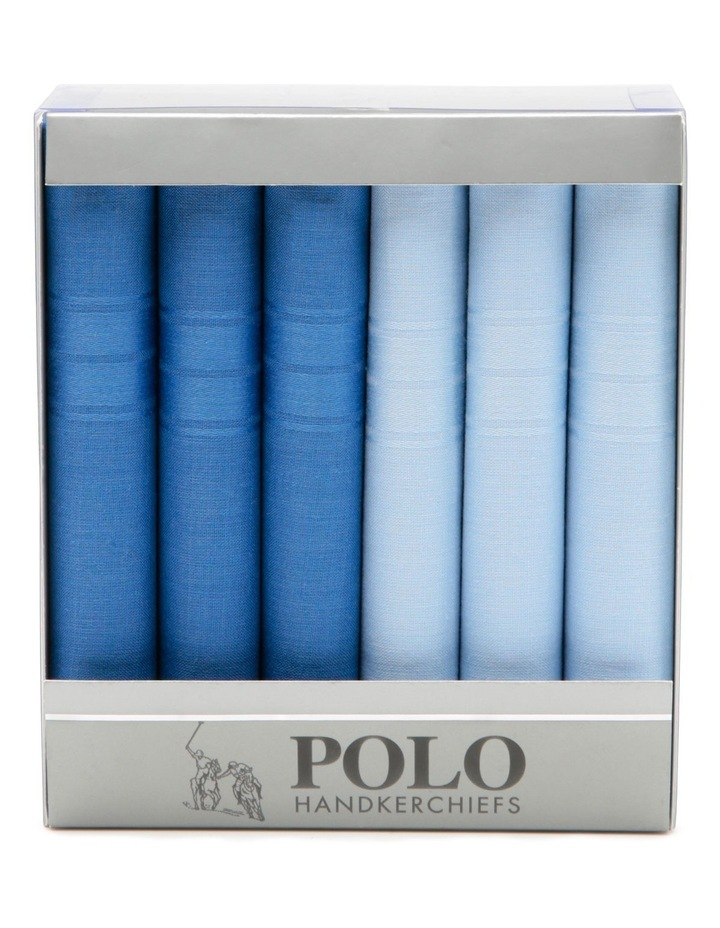 Polo 6 Pack Handkerchiefs image 1
