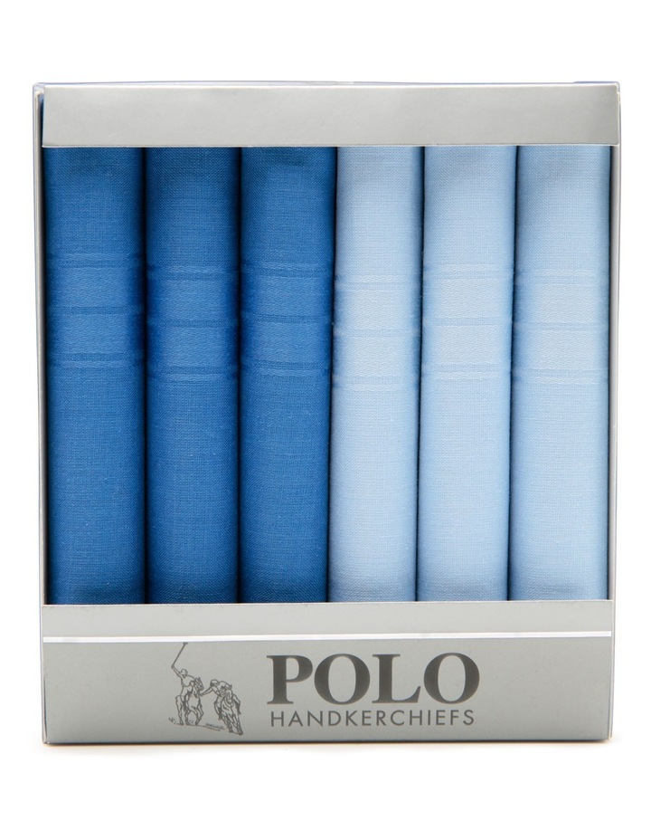 Polo 6 Pack Handkerchiefs image 2