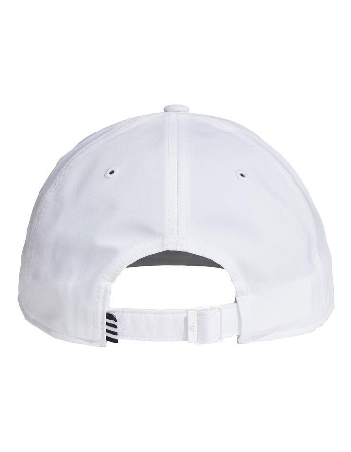 Baseball White Cap image 2