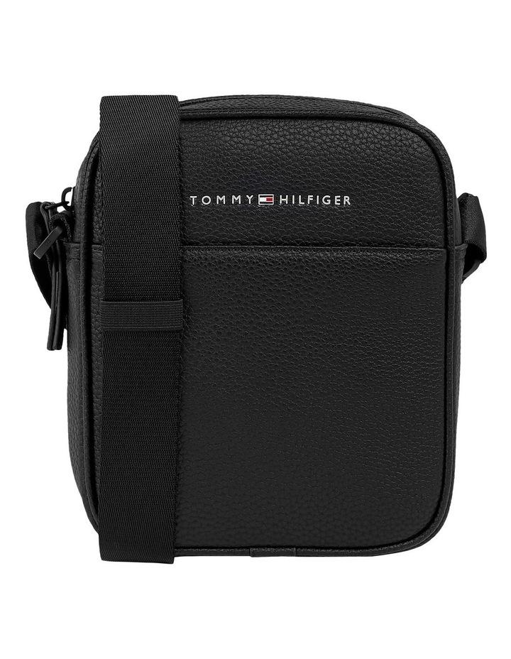 Essential PU Mini Reporter Bag Black image 1