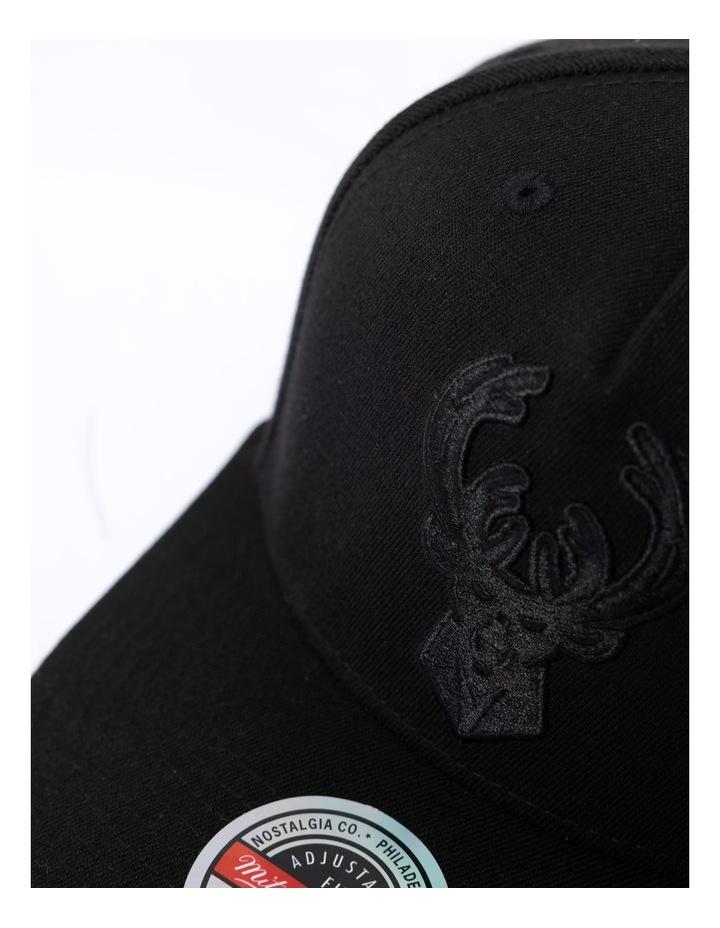 Black & Black Team Logo Snapback image 3