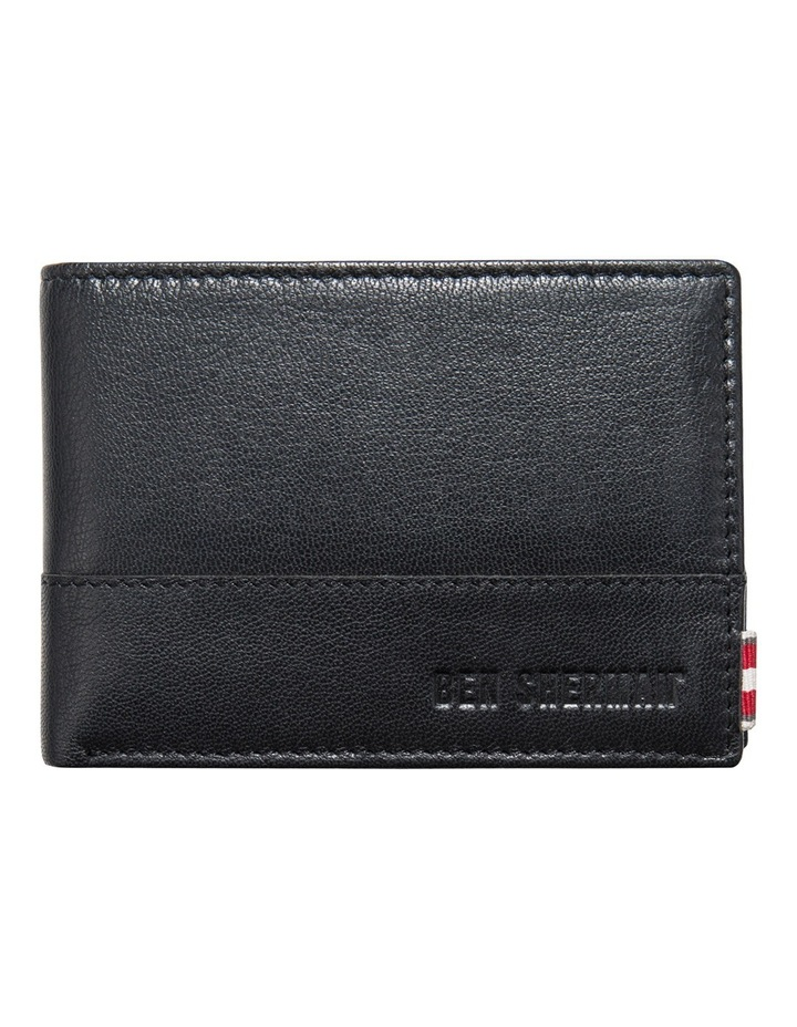 Centrefold Textured Leather Wallet image 1