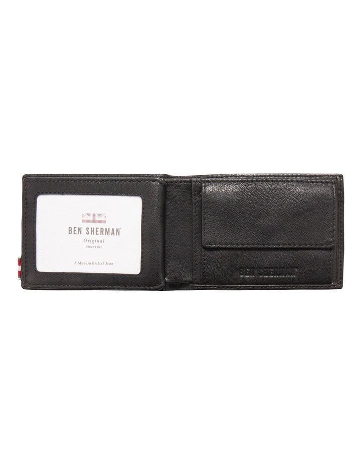 Centrefold Textured Leather Wallet image 2