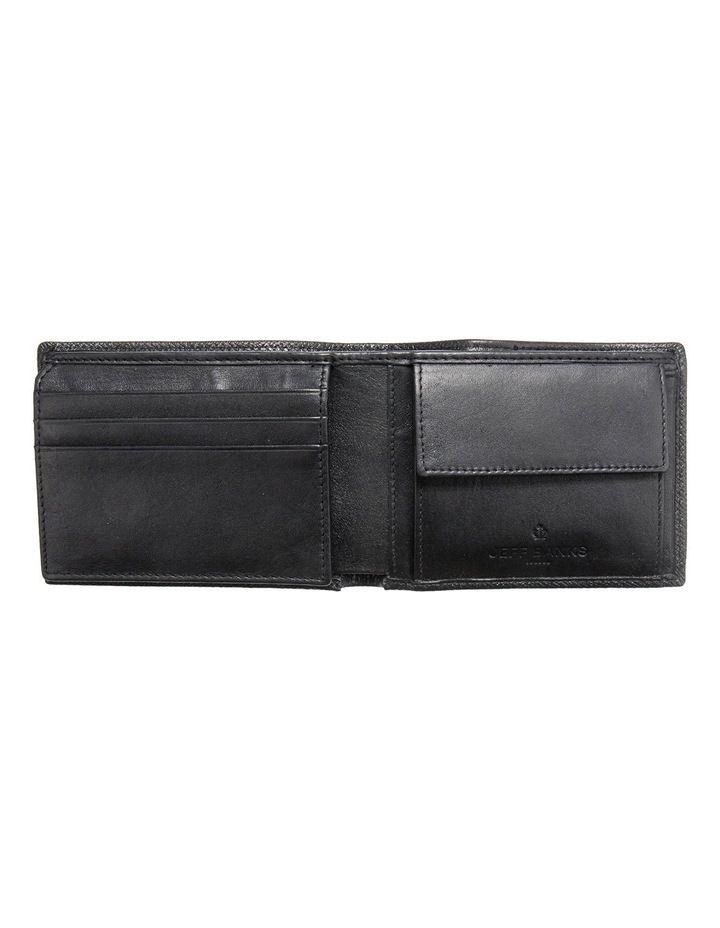 Black Leatherfold Wallet With Coin Pouch image 2