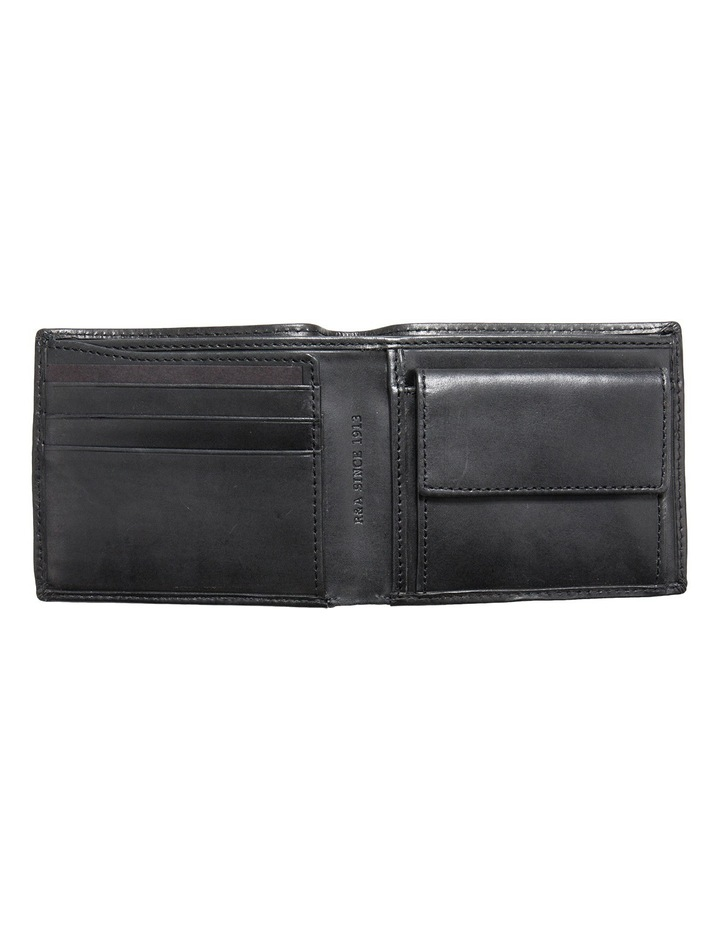 Bifold Leather Wallet With Coin Pouch image 2