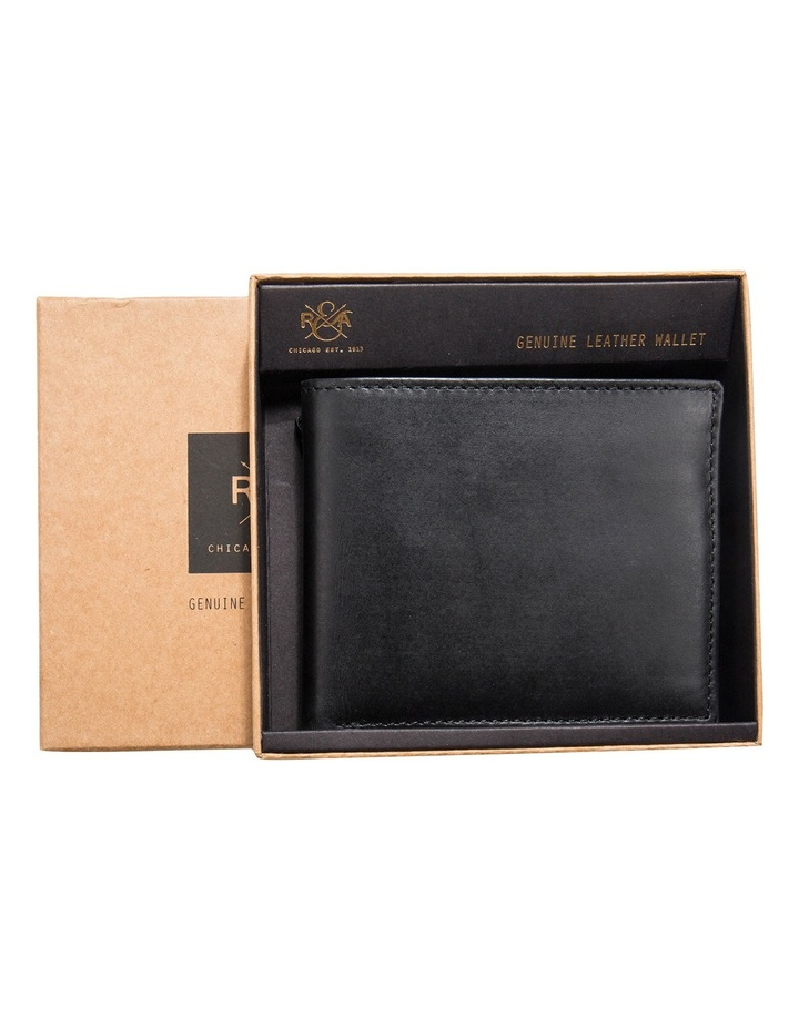 Bifold Leather Wallet With Coin Pouch image 3
