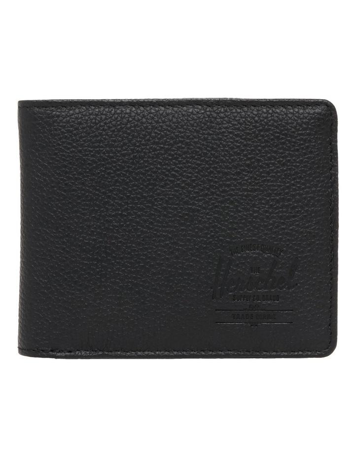 Hank Leather Pebbled Leather Black Wallet 10368-01885-OS image 1