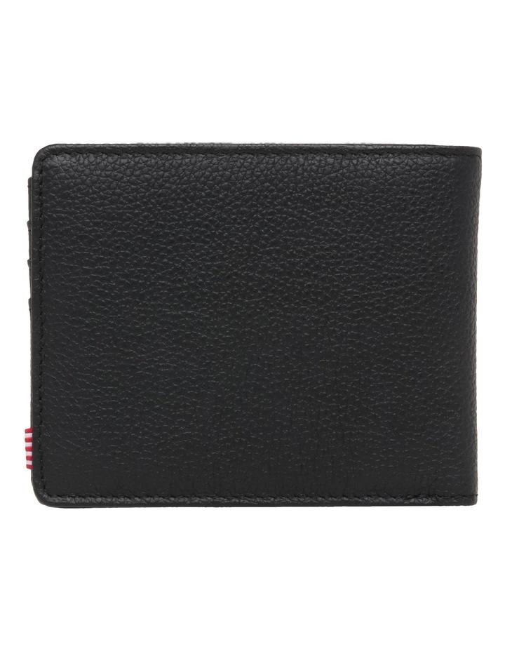 Hank Leather Pebbled Leather Black Wallet 10368-01885-OS image 2