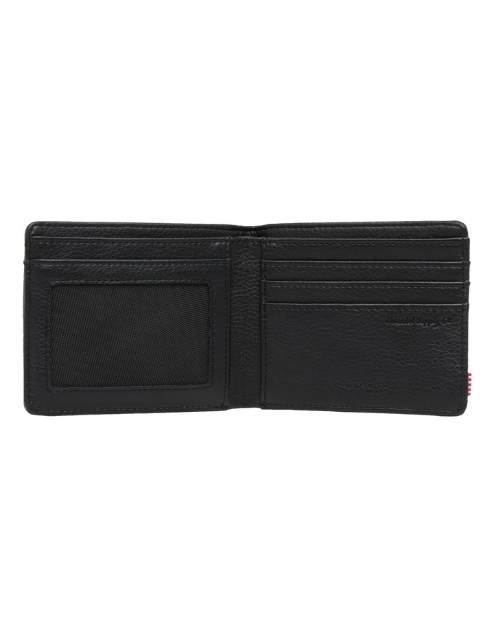 Hank Leather Pebbled Leather Black Wallet 10368-01885-OS image 3