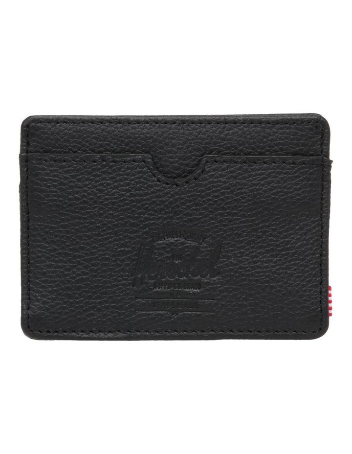 Charlie Pebbled Leather Black Wallet 10360-01885-OS image 1