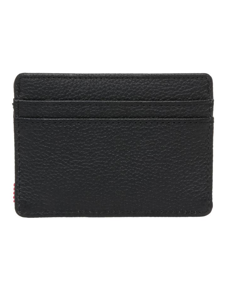 Charlie Pebbled Leather Black Wallet 10360-01885-OS image 2