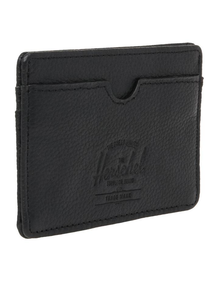 Charlie Pebbled Leather Black Wallet 10360-01885-OS image 3