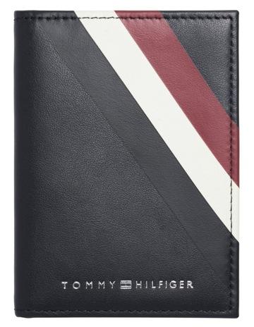 brand new ea054 fd81f Tommy Hilfiger Signature Bi-Fold ID Wallet