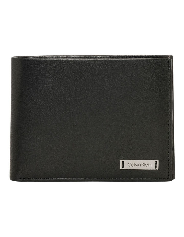 Smooth Plaque Cc Coin Wallet image 1