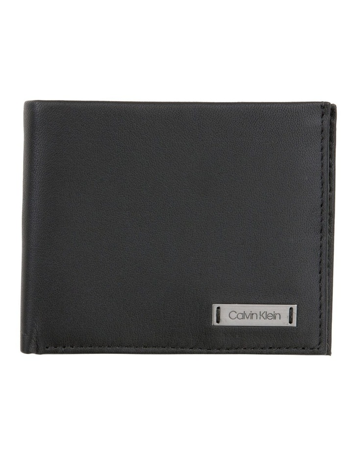 Smooth Plaque Slimfold Wallet image 1