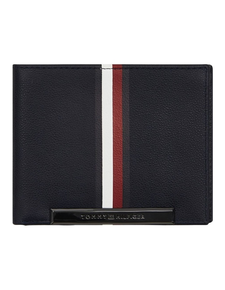 Small Stripe Card Wallet image 1