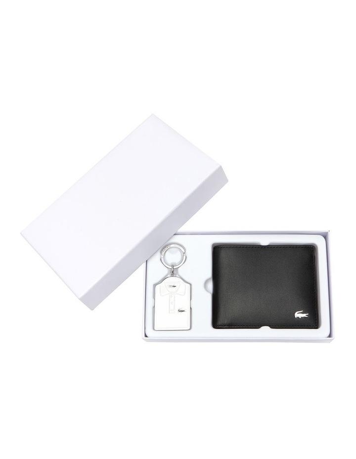 Small Billfold Box Wallet Black image 1