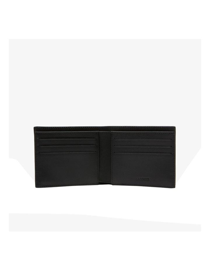 Small Billfold Box Wallet Black image 2