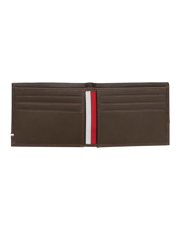 Small Contrast Panel Leather Wallet image 3