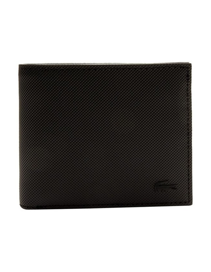 Mens Classic S Billfold Coin Black image 1